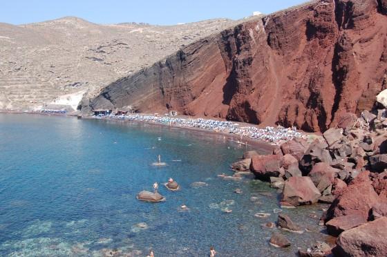 La extraordinaria Playa Roja
