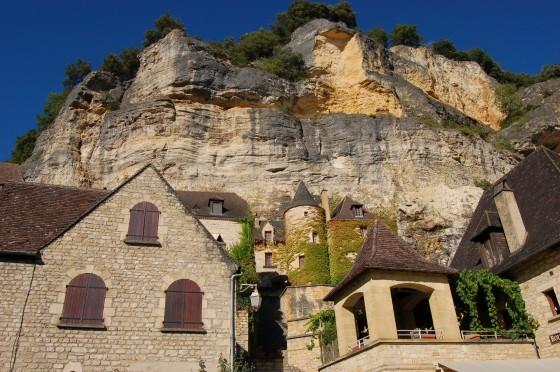 Las casas trepadoras de La Roque-Gageac