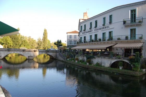 El hotel y restaurante Charbonnel, del todo recomendable.