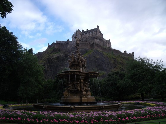 El castillo de Edimburgo, símbolo de la ciudad