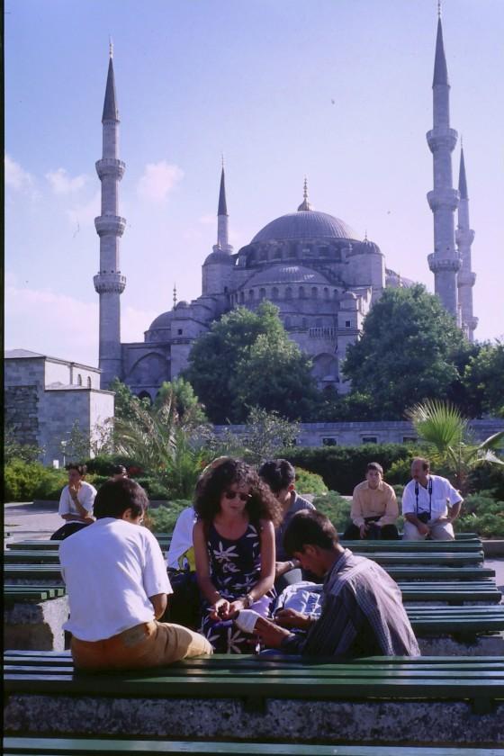 Esa primera vez en Turquía, esa Mezquita Azul de Estambul