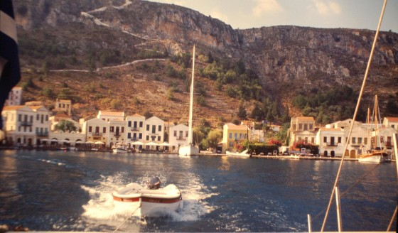 La diminuta Kastelorizo, escenario de la película 'Mediterráneo'