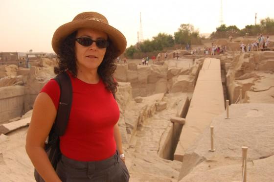Ante el obelisco abandonado de Assuán