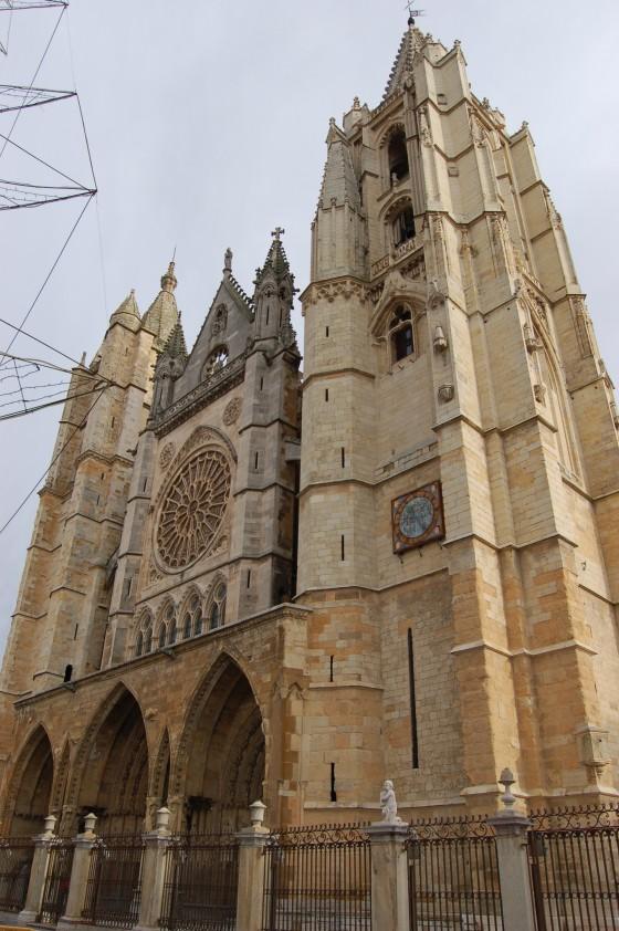La catedral de León, la hermosa 'pulchra leonina'.