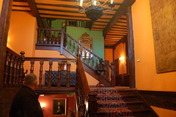 La escalera del Hotel Altamira