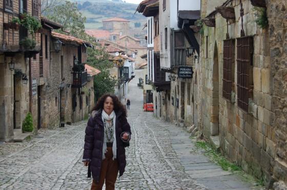 Penélope, en la calle del Cantón, junto al Hotel Altamira.