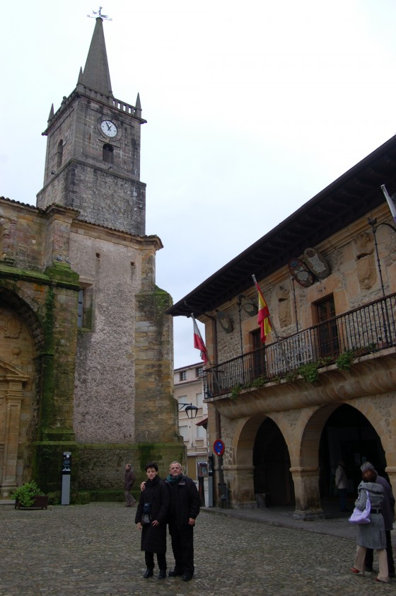 Plaza Mayor en Comillas