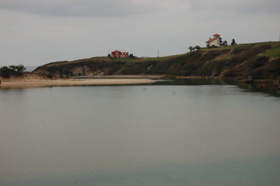 Ría de Oyambre, camino de San Vicente de la Barquera