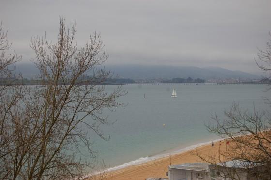 La brumosa bahía de Santander