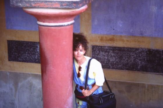 Penélope, hace 28 años, en el palacio de Cnosos, Creta