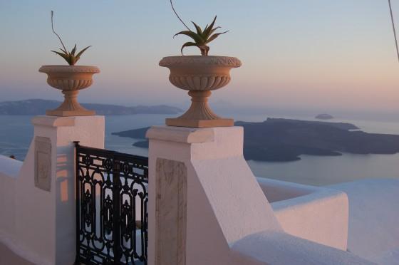 Santorini, amor a primera vista.