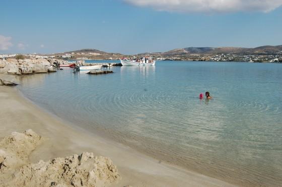 La playa de Kolimbithres, en la isla de Paros.