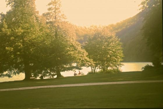 Un lugar para reponer fuerzas en interior del Parque.