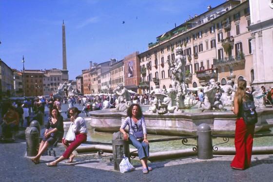 Piazza Navona es el mundo
