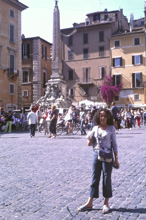 La piazza della Rotonda, rincón favorito