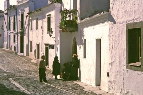 Como una estampa de la vieja Andalucía, pero es Portugal en los primeros 90.