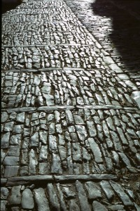 El pavimento de Monsaraz.