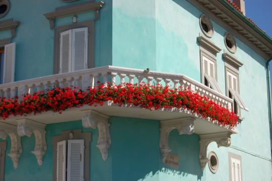 Un balcón de Marciana Marina.