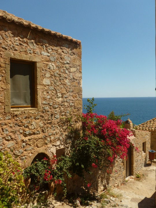 Monemvasia y el mar.