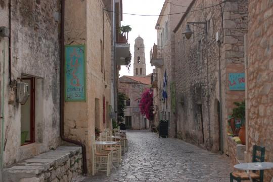 Areópoli, la calle principal.