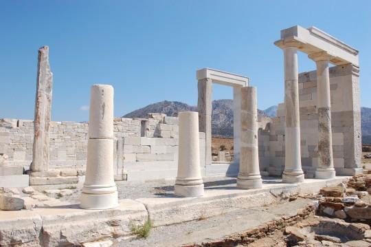 El templo de Deméter.