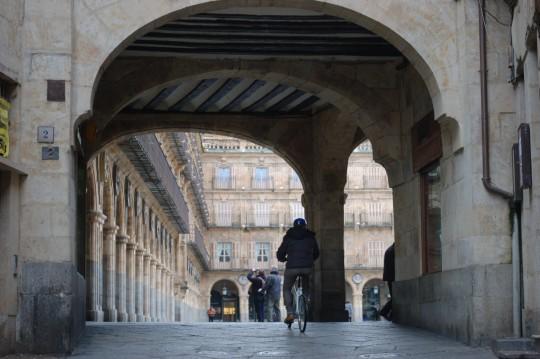 Arcos de entrada a la Plaza Mayor de Salamanca.