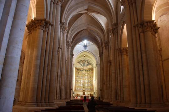 El románico tardío de la Catedral Nueva.