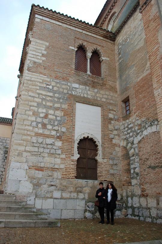 Patio del convento de Santa Clara.