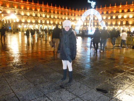 Pe, esta noche en la Plaza Mayor de Salamanca.