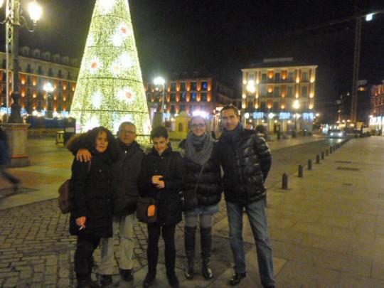 El día en Valladolid se remató con la compañía de Marta y Fernando.