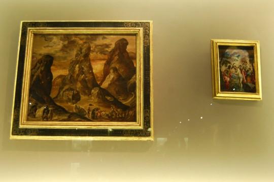 Los dos únicos cuadros de El Greco que se conservan en su tierra, Creta.