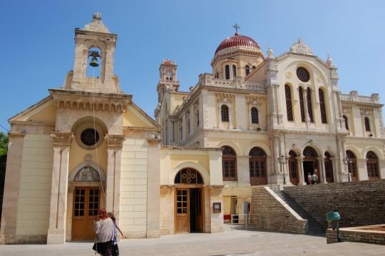 La catedral de Agios Minas