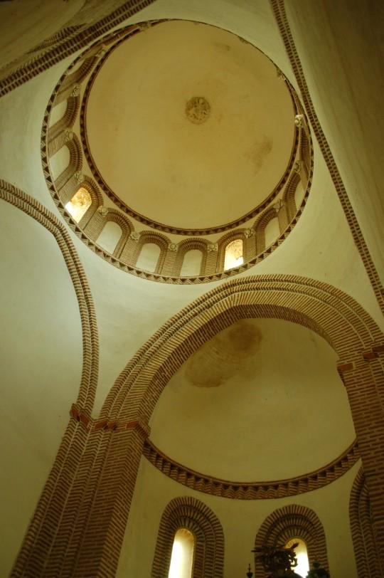 El alto interior y la cúpula.