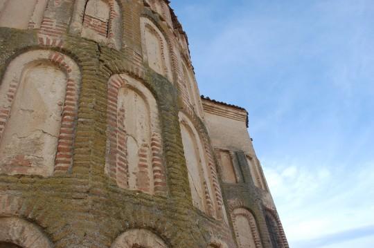 El ábside de Santa María del Castillo.