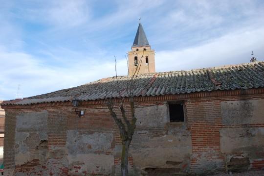 El cielo invernal de Castilla en Madrigal.