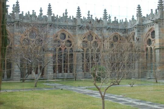 El claustro, lo poco que se puede fotografiar en la Catedral.