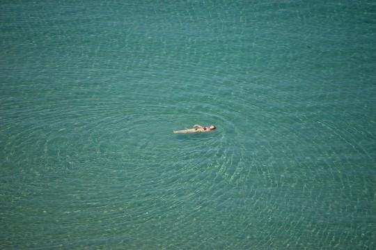 El ser humano y el mar de Creta.