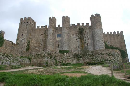 El castillo de öbidos.