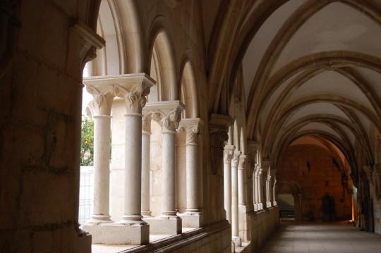 El claustro de Alcobaça.