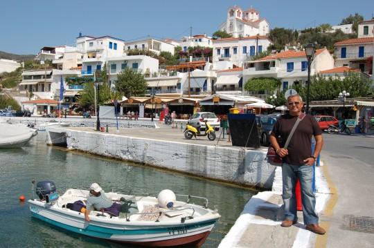 El puerto de Batsi, de nuevo.