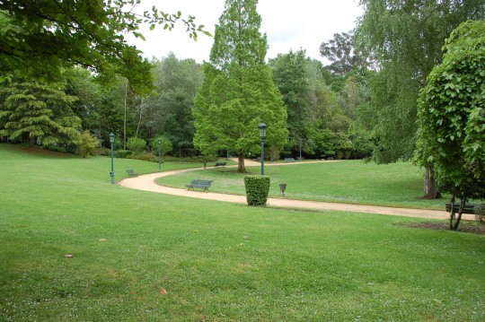 El Parque de los Pueblos de Europa.