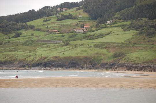 La costa de Mundaka.