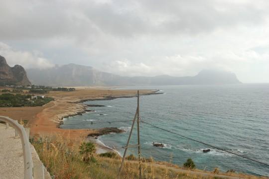 La punta noroeste de Sicilia es espectacular.