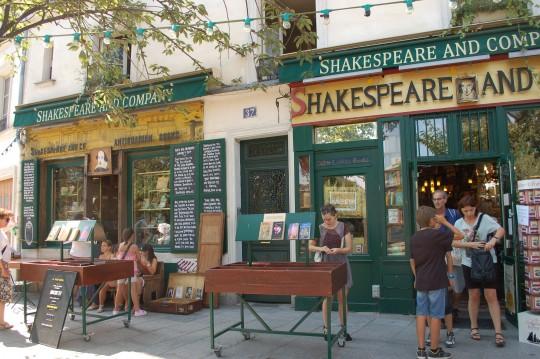 La evocadora librería 'Shakespeare&Company'.