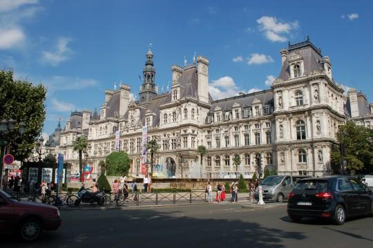 El Hotel de Ville, la 'casa' de Anne Hidalgo en París.