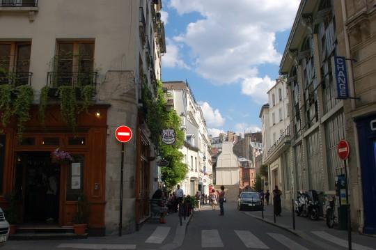 En la Île de la Cité, centro del centro.