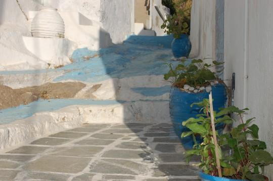 El suelo de una calle en Plaka.