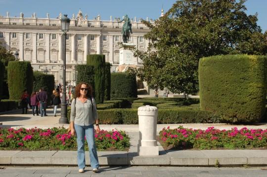 El Palacio de Oriente...