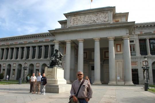 Despedida con arte, en El Prado.