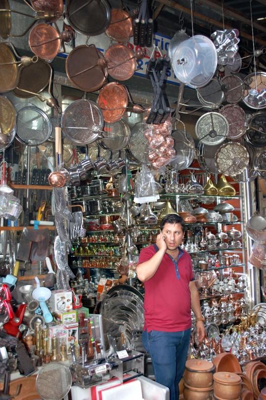 Alrededores del Bazar Egipcio.